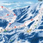 mapa lyžiarskeho stredisko Lackenhof