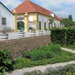 pestovanie byliniek na zámku Schlosshof