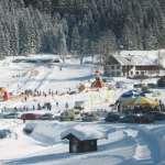 Lyžiarske stredisko Lackenhof v Rakúsku