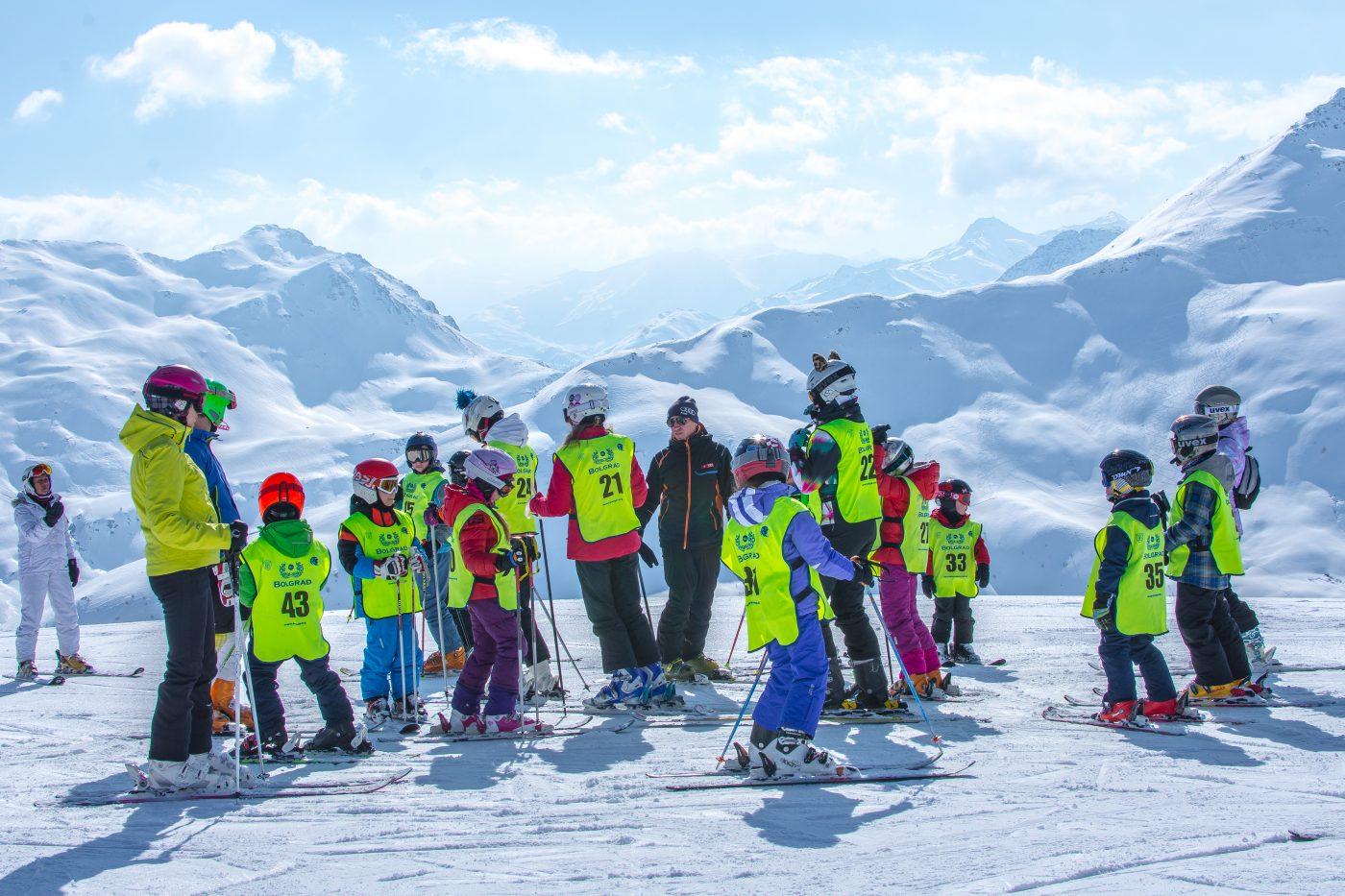 Lyžiarsky kurz v rakúskych Alpách