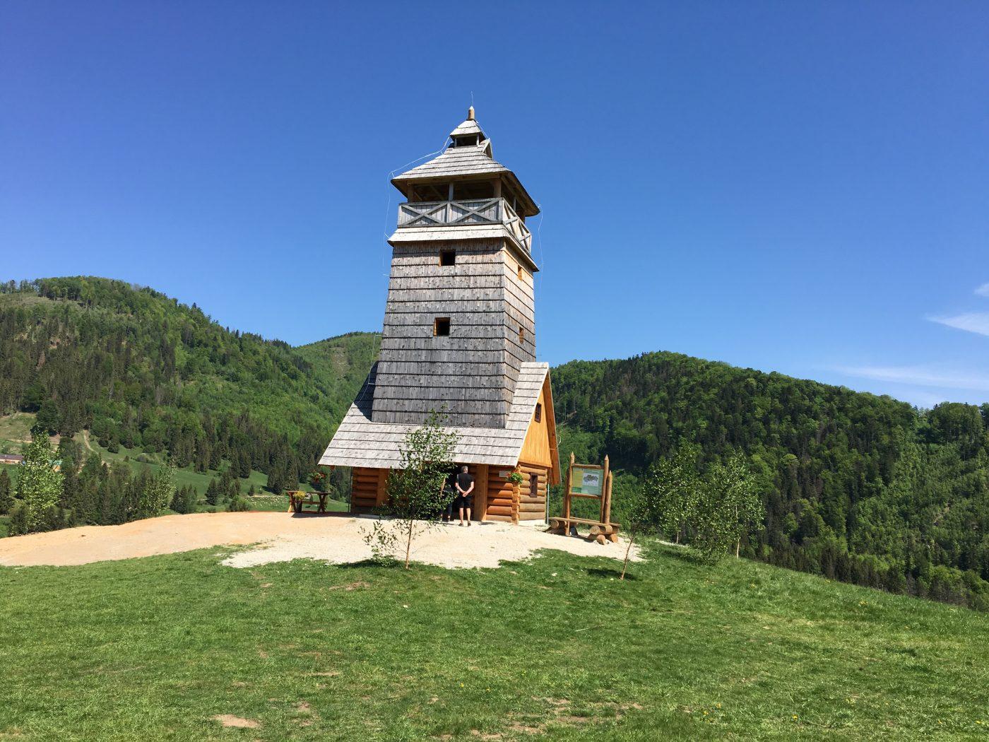 vyhliadková veža na salaši